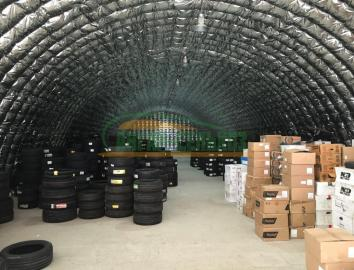 Бескаркасные арочные ангары и склады