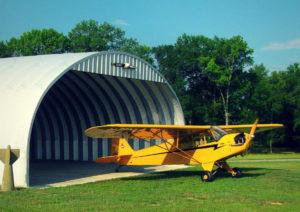 Ангар для самолета
